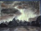 Landschaft, Malerei, Wetter, Wolken
