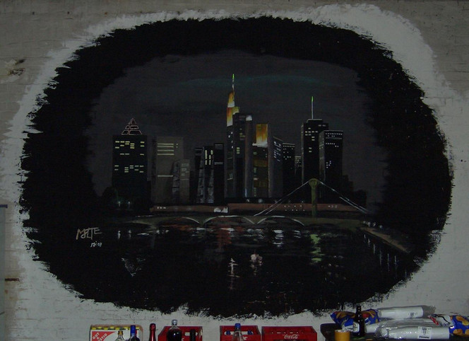 Malerei, Landschaft, Frankfurt