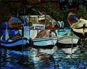 Warten, Wasser, Blau, Boot