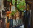 Malerei, Istanbul, Häuser