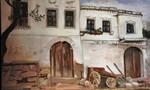 Malerei, Türkei, Haus