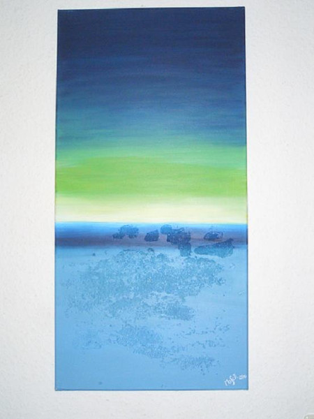 Abstrakt, Malerei, Horizont