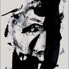 Schwarzweiß, Symbolik, Profil, Gestalt