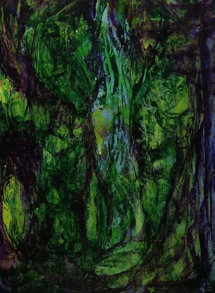 Malerei, Urwald