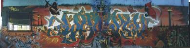 Graffiti, Surreal, Malerei