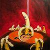 Striptease, Rot, Nachtclub, Banane