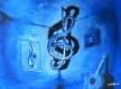 Notenschlüssel, Musiker, Erhängt, Hang