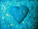 Herz, Acrylmalerei, Kalt, Blau