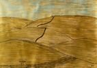 Bali, Gold, Timbuktu, Pastellmalerei