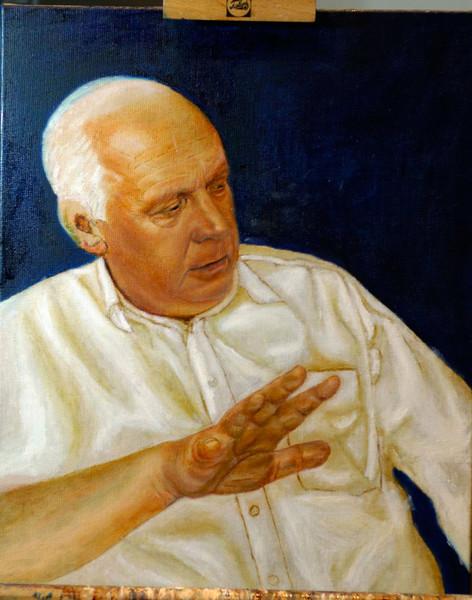 Malerei, Figural, Portrait, Hand
