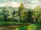 Baum, Malerei, Grün, Realismus