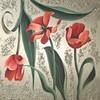 Acrylmalerei, Blume, Blumen, Tulpe