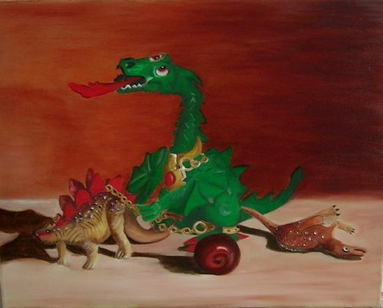 Bild dinos stillleben toy´s spielzeug von vera bei