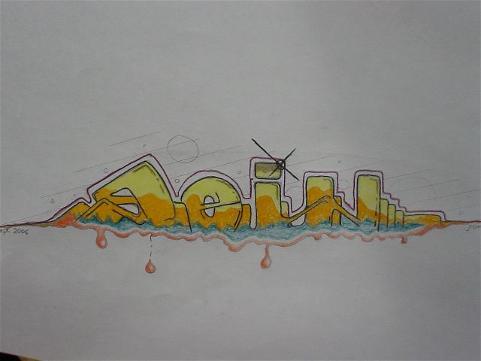 Entwurf, Zeichnung, Freestile, Sein, Graffiti, Zeichnungen