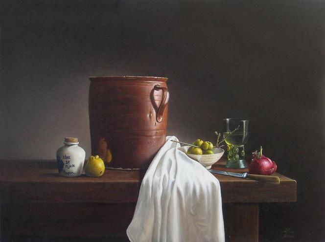 Stillleben, Realismus, Ölmalerei, Malerei, Fotorealismus