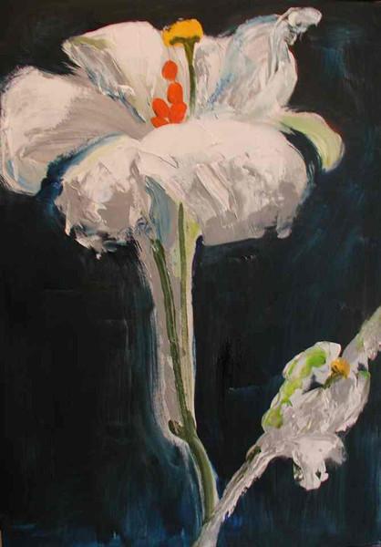 Malerei, Pflanzen, Sehnsucht