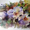 Aquarellmalerei, Nass, Schicht, Skizze