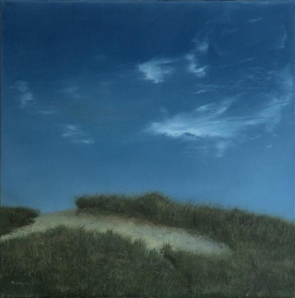 Landschaft, Malerei, Dünen
