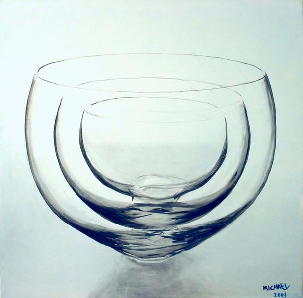 Malerei, Glas, Stillleben, Realismus, Ölmalerei