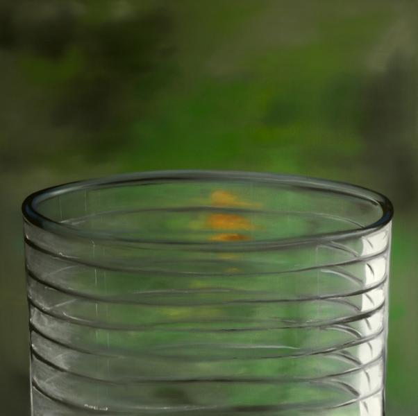Stillleben, Malerei, Glas