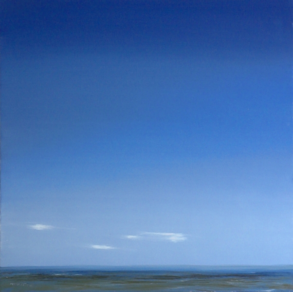 Malerei, Himmel, Landschaft, Ölmalerei, Meer