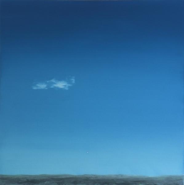 Himmel, Landschaft, Realismus, Malerei, Ölmalerei