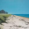 Ölmalerei, Himmel, Strand, Landschaft