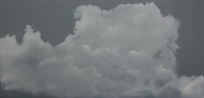 Ölmalerei, Wolken, Realismus, Himmel, Malerei, Schwarzweiß