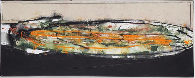Malerei, Elypse, Abstrakt