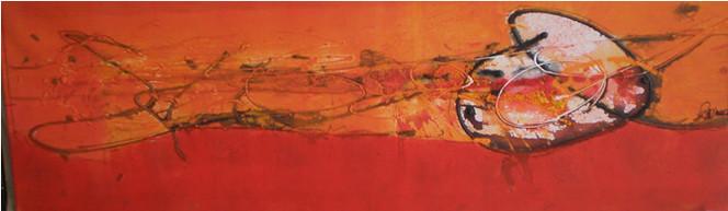 Abstrakt, Malerei, Rechts, Herz