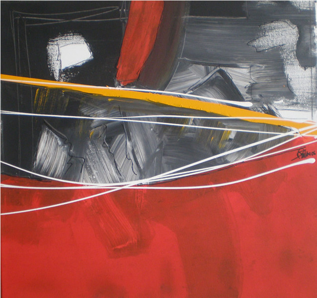 Malerei, Abstrakt, Lichtblick
