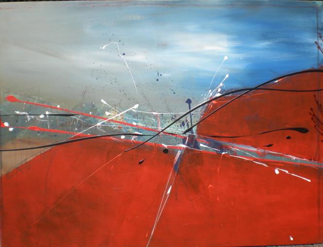 Malerei, Abstrakt, Teil