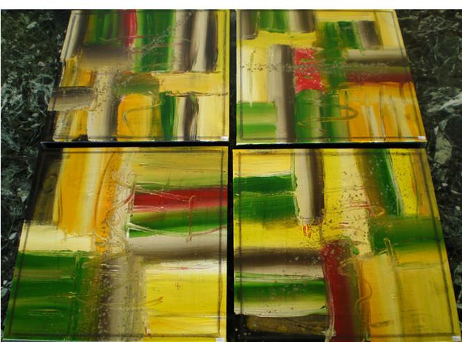 Abstrakt, Malerei, Rechts, Links, Oben, Unten