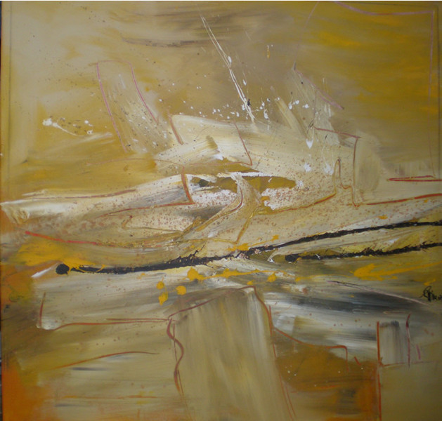 Malerei, Abstrakt, Weg