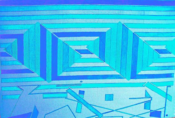 Geometrie, Malerei, Abstrakt