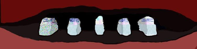 Lippen, Mund, Zähne, Digitale kunst