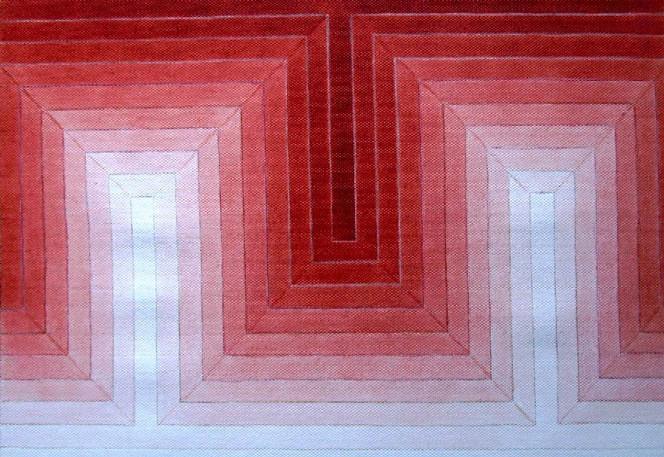 Geometrie, Tonwerte, Abstrakt, Malerei