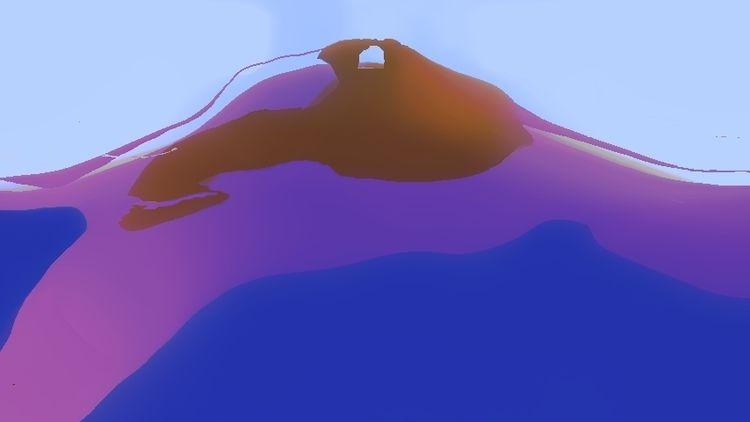 Pie, Insel, Terra, Digitale kunst