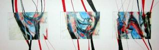 Körper, Akt, Abstrakt, Malerei