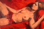 Akt, Ölmalerei, Ölmalerei figur akt, Figur