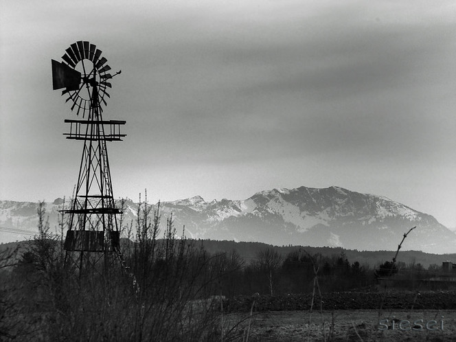 Wind, Stille, Rad, Schwaigen, Fotografie, Bayer