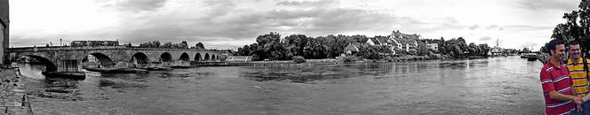 Regensburg, Panorama, Fotografie, Brücke, Reiseimpressionen,