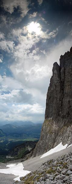 Berge, Ellmau, Digital, Landschaft, Tor, Kaiser