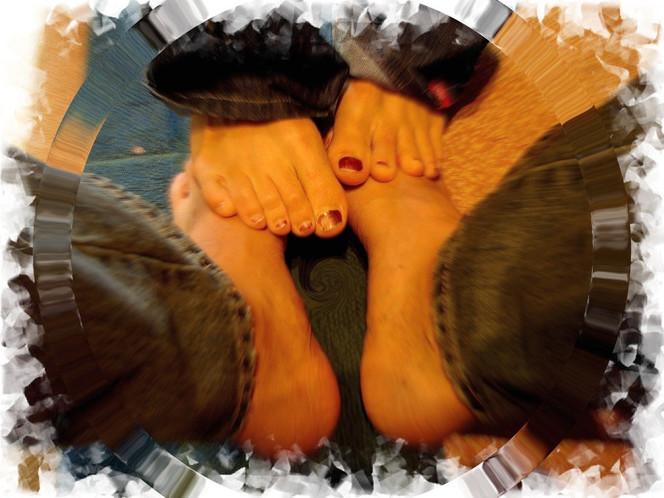 Fuß, Annäherung, Abstrakt, Fotografie