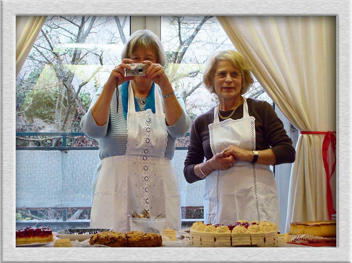 Bild kuchen m nchen weihnachtsmarkt cvjm von christian for Christian hoenig