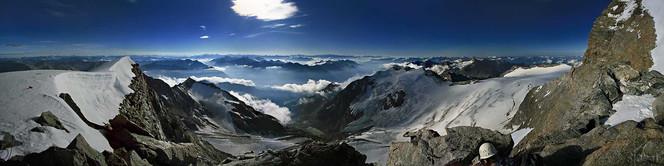Berge, Panorama, Pizpalü, Schweiz
