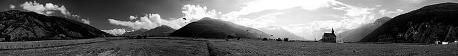 Digital, Paragleiter, Südtirol, Landschaft, Panorama, Reschen