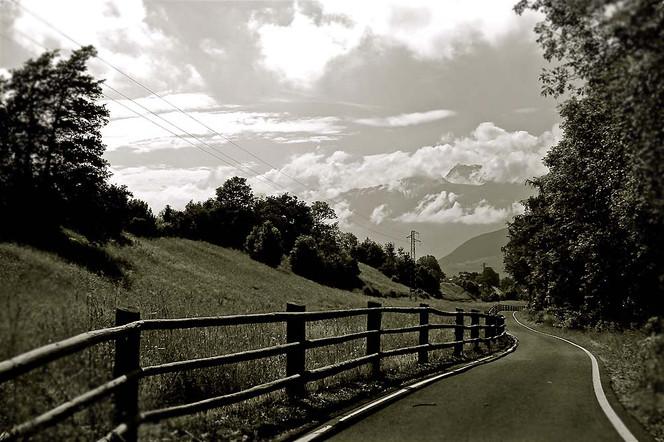 Fotografie, Reiseimpressionen, Weg, Südtirol