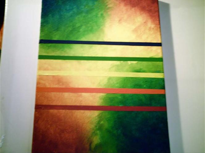 Farben, Regenbogen, Abstrakt, Malerei