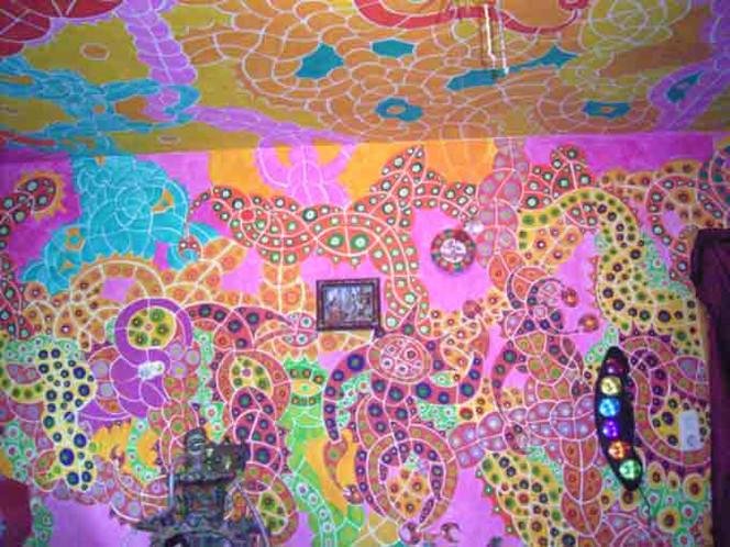 Wandmalerei, Alleins, Malerei, Design, Acrylmalerei, Mode